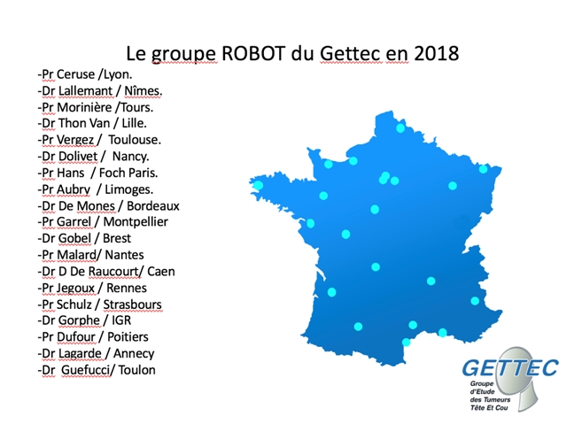 Groupe Robot du GETTEC