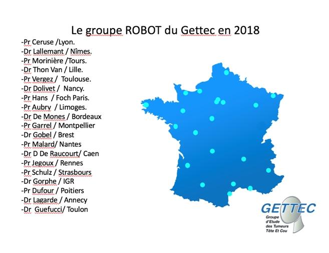 Groupe Robot du GETTEC